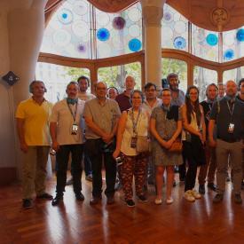 The FLOIM Consortium visit to Casa Batlló